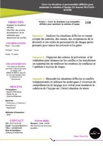Programme MANA04